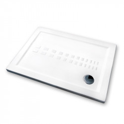 Piatto doccia 120x80 cm rettangolare 5.5 extrapiatto bianco