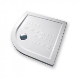 Piatto doccia 80x80 cm angolare 5.5 extrapiatto bianco