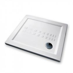 Piatto doccia 90x72 cm rettangolare 5.5 extrapiatto bianco