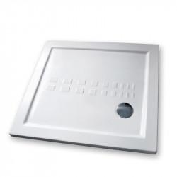 Piatto doccia 90x90 cm quadrato 5.5 extrapiatto bianco