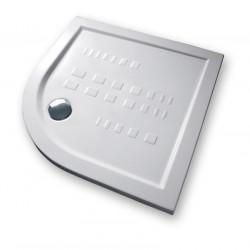 Piatto doccia 90x90 cm angolare 5.5 extrapiatto bianco