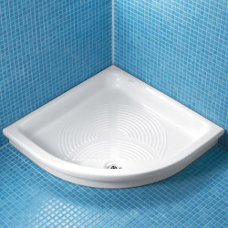 Piatto doccia angolare Surf 90x90 cm bianco
