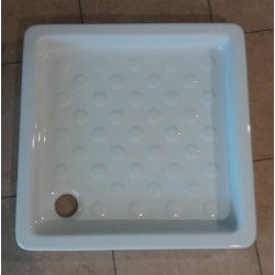 Piatto doccia quadrato Basic 65x65 cm bianco