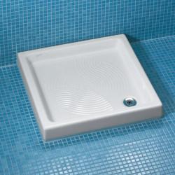 Piatto doccia quadrato Golf 76x76 cm bianco