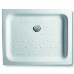 Piatto doccia rettangolare Basic 120x70 cm bianco