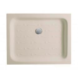 Piatto doccia rettangolare Basic 90x72 cm pergamon