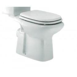 Pienza vaso monoblocco scarico parete bianco
