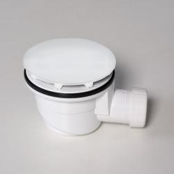 Piletta per piatto doccia 90 mm bianco opaco