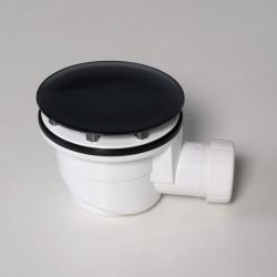 Piletta per piatto doccia 90 mm nero opaco