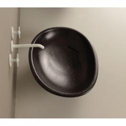 Biko lavabo da appoggio Pitone Nero