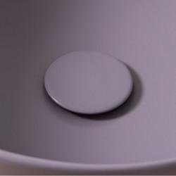 Plate piletta in ceramica click-clack Amethyst