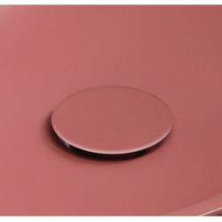 Plate piletta in ceramica click-clack Coral