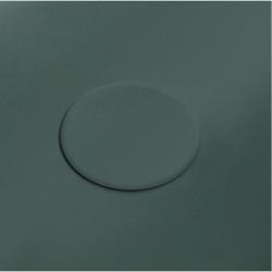 Plate piletta in ceramica click-clack  Malachite