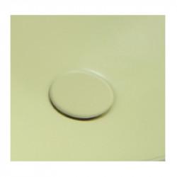 Plate piletta in ceramica click-clack Yellow Topaz