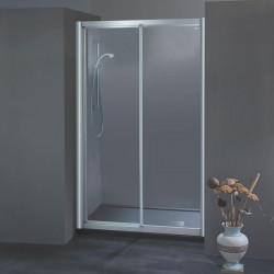 Porta doccia scorrevole 304 da 115/123 cm in crilex 3 mm