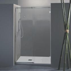 Porta doccia scorrevole Wendy da 158/160 cm in cristallo 8 mm
