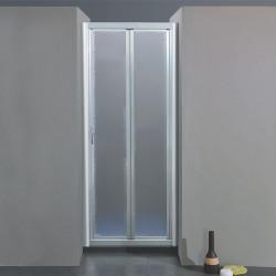 Porta doccia soffietto 204 da 87/95 cm in crilex 3 mm