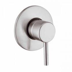 Source miscelatore monocomando ad incasso doccia in acciaio