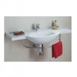 Riviera lavabo sospeso 120x54 cm bianco