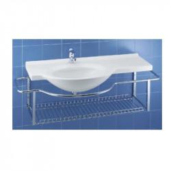 Riviera lavabo sospeso 120x54 cm destro bianco