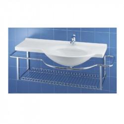 Riviera lavabo sospeso 120x54 cm sinistro bianco