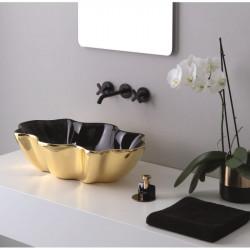 Seastar lavabo da appoggio Black&Gold