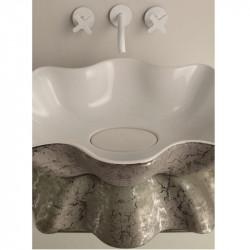 Seastar lavabo da appoggio Unique White&Platinum