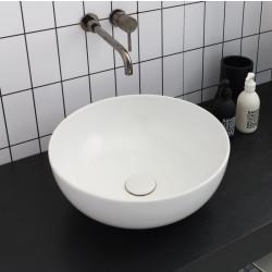 Sky lavabo da appoggio White Agate