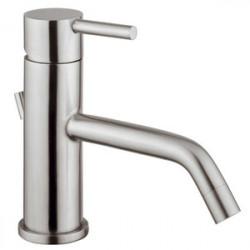Source miscelatore monocomando lavabo in acciaio