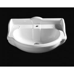 Sovereign lavabo semincasso Bianco
