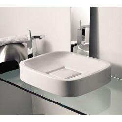 Sphere lavabo da appoggio bianco