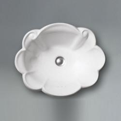 Star lavabo da incasso 52 cm Bianco