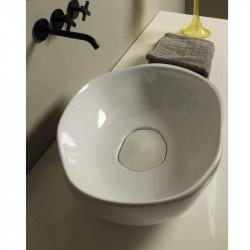 Stone lavabo da appoggio Bianco