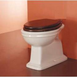 Trevi vaso scarico terra in ceramica bianco