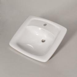 Trylogya lavabo da incasso bianco