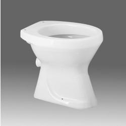 Vaso Ovaletto scarico terra bianco