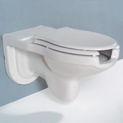 Vaso Sospeso per Disabili 80 cm bianco