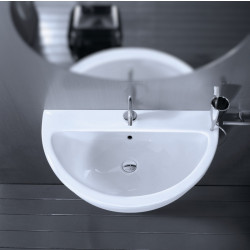 Young lavabo 60 cm Bianco