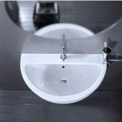 Young lavabo 80 cm Bianco