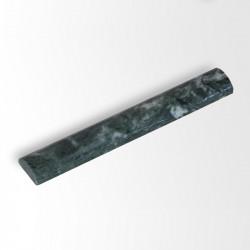 Listello bombato in marmo 20x3x1,3 cm verde Alpi
