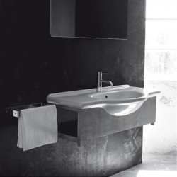 Caio lavabo consolle 65 cm bianco