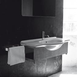 Caio lavabo consolle 75 cm bianco