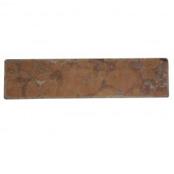 Listello in marmo 10x2,5x1 cm rosso Verona