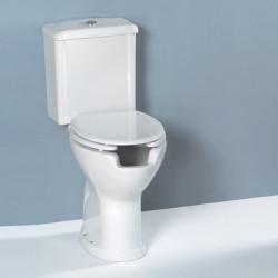 Vaso per Disabili monoblocco scarico parete completo di cassetta monoblocco bianco