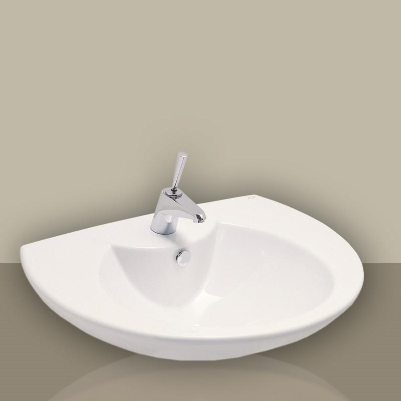lavabo 60 cm eos punto bianco. Black Bedroom Furniture Sets. Home Design Ideas